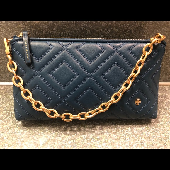 b6649c07abd Tory Burch Fleming Crossbody bag Symphony blue. M 5a60bdabdaa8f64653b9071a